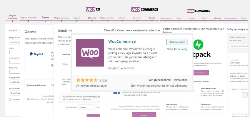 WooCommerce Nasıl Kurulur?